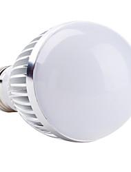 5W E26/E27 Lâmpada Redonda LED A60(A19) 1 LED de Alta Potência 450 lm Branco Quente AC 85-265 V