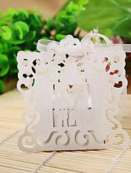 12 Piece/Set Favor Holder - Creative Pearl Paper Favor Boxes
