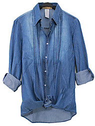 длинный рукав рубашки Жан