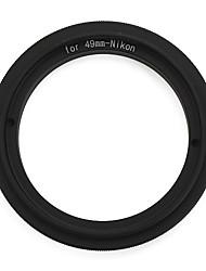 Bague adaptatrice 49mm pour Nikon AF montage par intérim