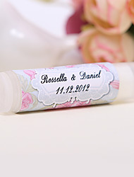 Personlized Lip Balm Tube Favors - Sweet (Set of 12)