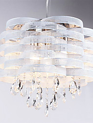 Stylish Crystal Pendant Light with 3 Lights