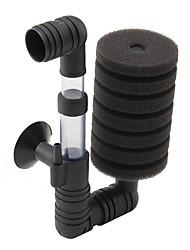 eau de l'aquarium à faible bruit filtre dual-éponge (15cm x 8cm x 5cm)