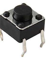 4-Pin-Taktschalter (100 Stück pro Packung, 6x6x5mm)