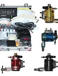 4 Rotary Tattoo Gun Kit with LED Power Supply