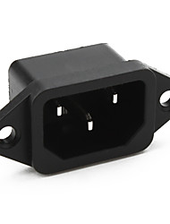 AC Power Jack Socket Connector, AC-04 (10 Pieces a Pack)