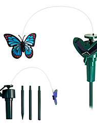 Solar Powered Flying Fluttering Monarch Butterfly for Garden Plants
