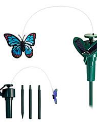 movido a energia solar vôo esvoaçante borboleta monarca para plantas de jardim