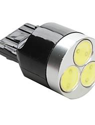 t20 3W SMD Ampoule LED lumière blanche pour la voiture (12V DC)