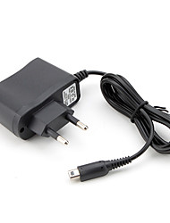 Universal AC Mains Power Adapter for Nintendo DSi, DSi XL and 3DS (EU, 5V, 500mA, Black)
