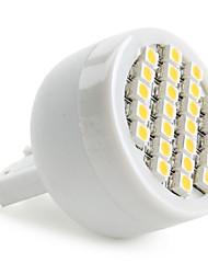 1.5W G9 Spot LED 24 SMD 3528 60 lm Blanc Chaud AC 100-240 V