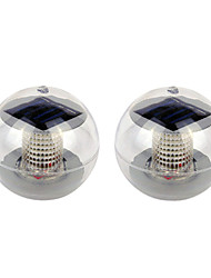 Set of 2 Color Changing Solar Powered LED Floating Light