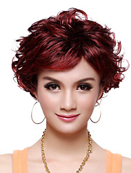 Capless Top Grade Synthetic Elegant Curly Short Wig