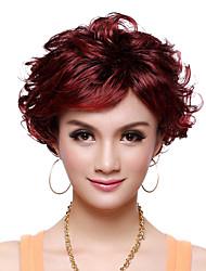шапки высшего сорта синтетических элегантный фигурные короткий парик