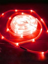 50 led rouge tube solaire extérieure décor feux de jardin jardin