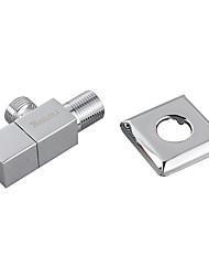 Válvula Angular de Bronze com Quadrado em Aço Inoxidável