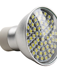 4W E14 / GU10 LED Spotlight MR16 60 SMD 3528 180 lm Natural White AC 220-240 V