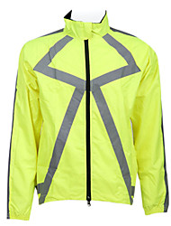 JAGGAD Cycling Tops / Jacket / Windbreakers Men's Bike Breathable / Quick Dry / Thermal / Warm Long Sleeve Polyester Yellow / OrangeXS /