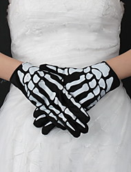 Wrist Length Fingertips Glove Nylon Party/ Evening Gloves