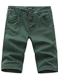 Men's Casual Capri Jeans