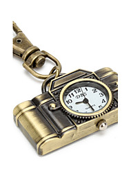 Women's Unisex Keychain Watch Quartz Band Vintage Brand