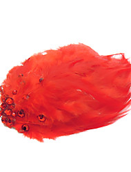 Women's Feather Headpiece - Wedding/Special Occasion/Casual/Outdoor Hair Pin