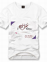 personalisierten T-Shirt - i love you
