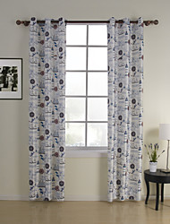 (Two Panels) Contemporary Freedom Kids Curtain
