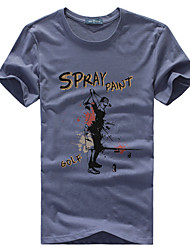 de manga corta para hombre venta caliente 't-shirt
