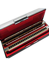 Kaine - (K2411) Professional Tremolo Harmonica 2 keys/24 Holes/48 Tones
