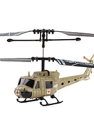 2 canais helicóptero militar (exército verde)