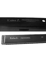 Kaine - (K2201) Tremolo Harmonica C key/22 Holes/44 Tones