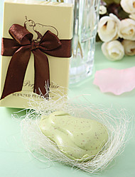 """The Perfect Pair"" Pear Shaped Scented Soap Wedding Favor"