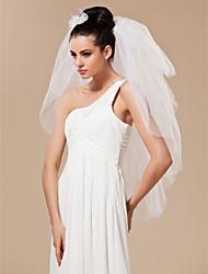 4 Layers Elbow Length Wedding Veil