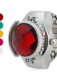 Women's Ruby Style Design Alloy Analog Quartz Ring Watch (Assorted Colors) Cool Watches Unique Watches