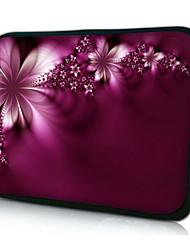 "Flower Shadow Neoprene Laptop Sleeve Case for 10-15"" iPad MacBook Dell HP Acer Samsung"
