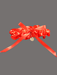 Garter Satin / Polyester Sweetheart Red