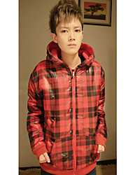 Man Fashion Cotton Jacket With Hat