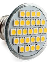 E26/E27 4 W 27 SMD 5050 300 LM Warm White PAR Spot Lights V