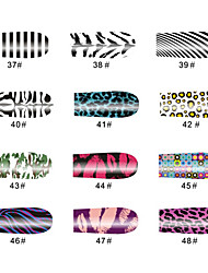 lippen 14 tips nail art stickers