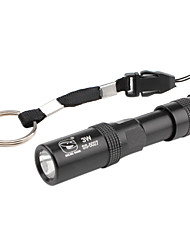 sorrindo tubarão ss-5027 mini-1-modo lanterna LED (1xAAA)