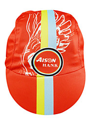 KOOPLUS-Men's 100% Polyester Cycling Cap (Red)