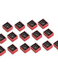10 штук 4 позиции микропереключателя 2,54 мм шаг 2 ряда 8-контактный DIP-переключатель для поделок