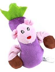 jouet d'aubergine de style pour les chiens (16 x 10 x 5cm)