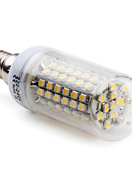 E14 / G9 5W 96 SMD 3528 300 LM Warm White T LED Corn Lights AC 220-240 V