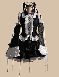 Inspired by Vocaloid Hagane Miku Video Game Cosplay Costumes Cosplay Suits Patchwork Black Top