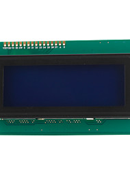 2004 20x4 branca personagens lcd módulo de display