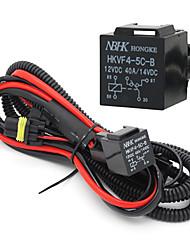 Car Auto Xenon HID Conversion harnais relais Fusible Pour 9005/9006