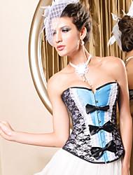 Acryl / Spandex mit Spitze / bowknot trägerlosen Busk vor Schließung shapewear