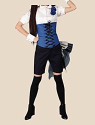 ciel phantomhive blue ver. ⅱ traje de cosplay